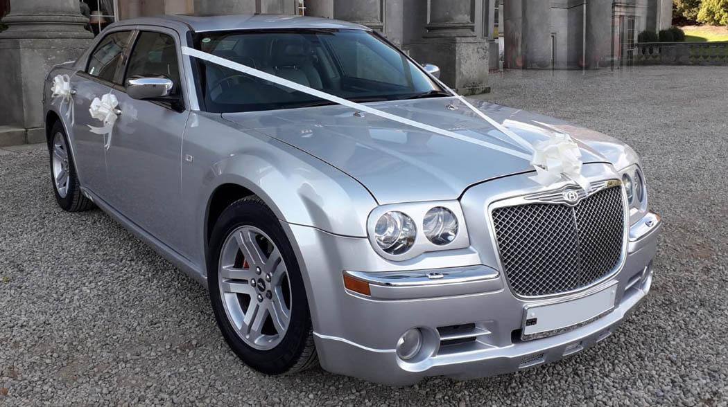 Chrysler Bentley style wedding car Teesside