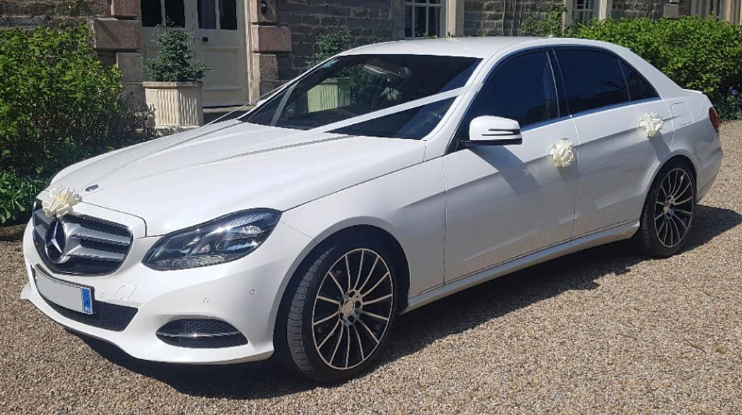 Mercedes E class wedding car Teesside